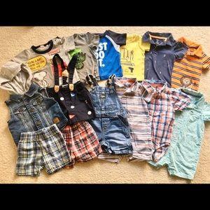 18 Months Toddler Boy Bundle 14 items